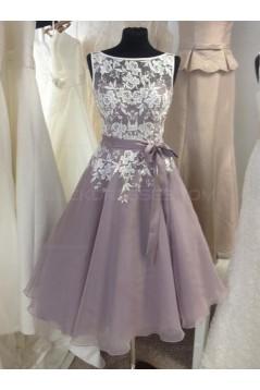 A-Line Short Lace Wedding Party Dresses Bridesmaid Dresses 3010094
