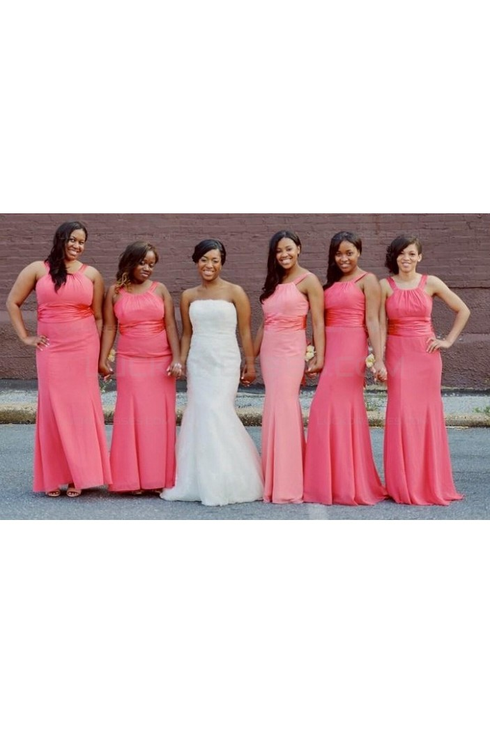 Long Chiffon Wedding Guest Dresses Bridesmaid Dresses 3010126