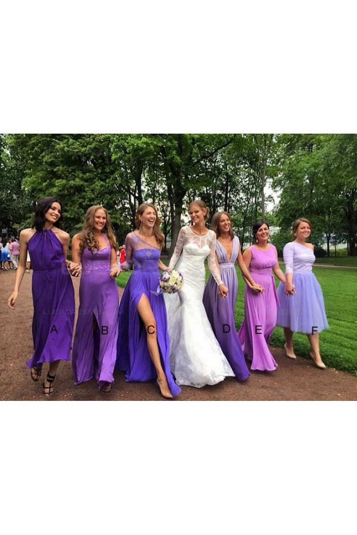 Purple Wedding Guest Dresses Bridesmaid Dresses 3010136