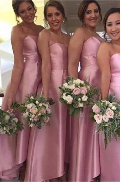 Long Pink Wedding Guest Dresses Bridesmaid Dresses 3010161