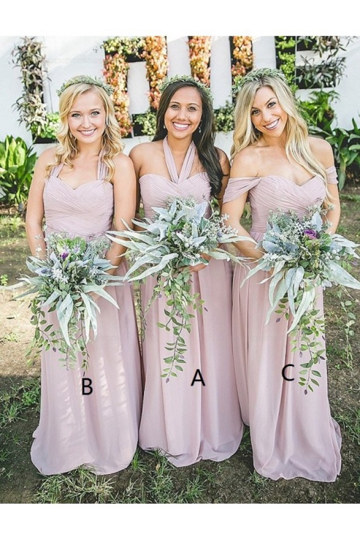 Long Chiffon Wedding Guest Dresses Bridesmaid Dresses 3010181