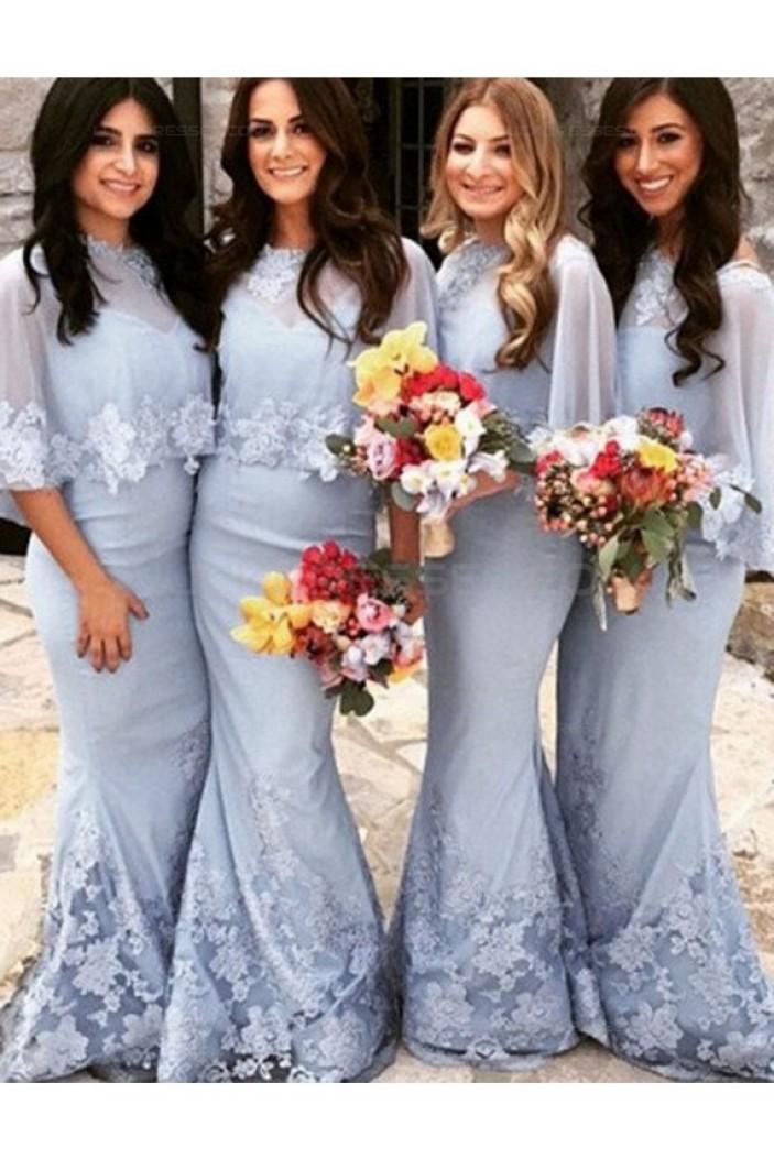 Mermaid Lace Long Wedding Guest Dresses Bridesmaid Dresses 3010207