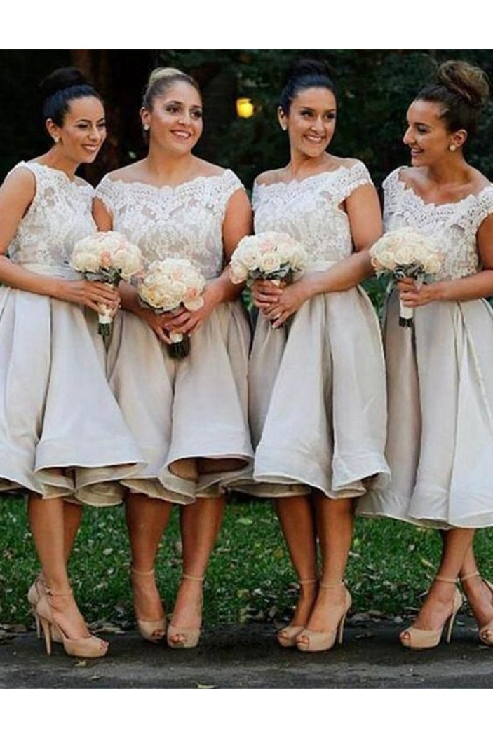 Short Lace Wedding Guest Dresses Bridesmaid Dresses 3010250