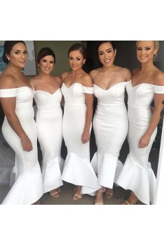 Mermaid Off-the-Shoulder Bridesmaid Dresses 3010313