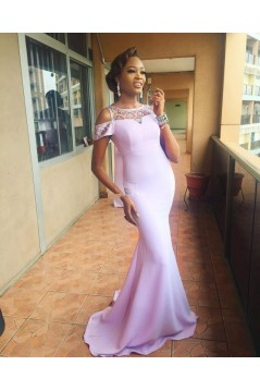 Mermaid Beaded Long Bridesmaid Dresses 3010317