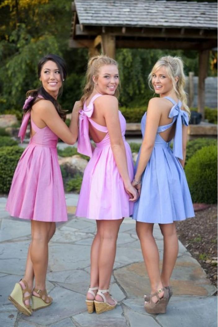 Short/Mini Bridesmaid Dresses 3010331