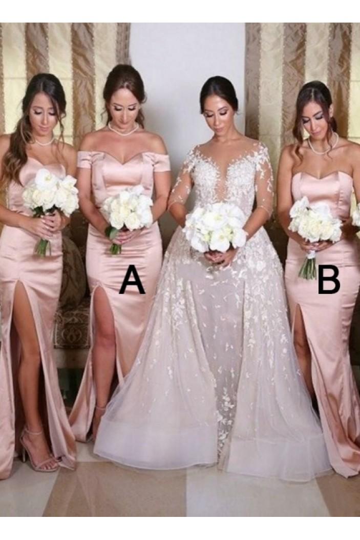 Mermaid Long Bridesmaid Dresses 3010340