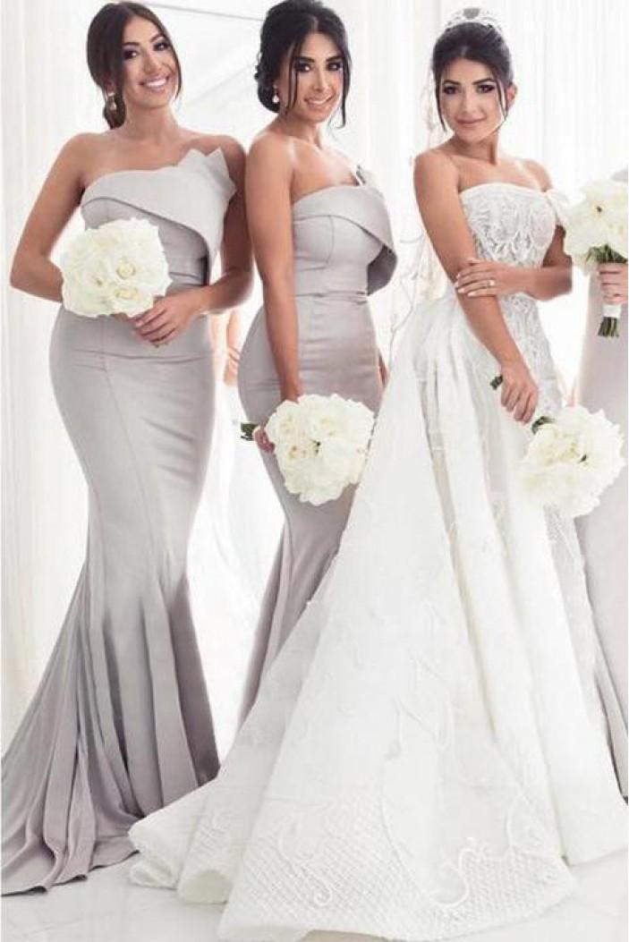 Mermaid Long Bridesmaid Dresses 3010398