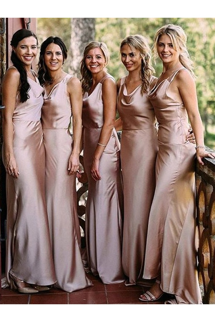 Mermaid Floor Length Bridesmaid Dresses 3010439