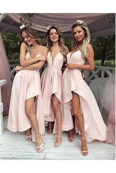 A-Line Spaghetti Straps Bridesmaid Dresses 3010446