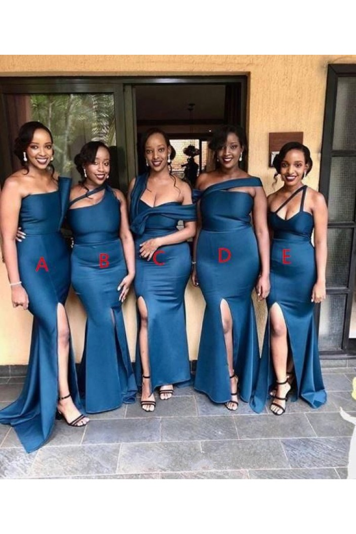 Mermaid Long Floor Length Bridesmaid Dresses 3010452
