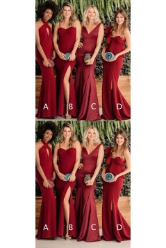 Mermaid Long Floor Length Bridesmaid Dresses 3010529