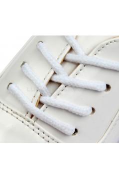 Men's Kids' White Leatherette Modern Ballroom Latin Dance Shoes Dance Sneakers Flat Heel D603003