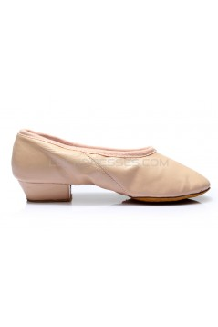 Women's Pink Soft Leatherette Dance Shoes Ballet/Latin/Yoga/Dance Sneakers Flat Heel D604001