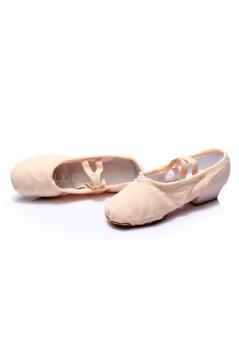 Women's Pink Canvas Dance Shoes Ballet/Latin/Yoga/Dance Sneakers Canvas Flat Heel D604002