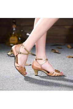 Women's Nude Silver Heels Pumps Fashion Latin/Salsa/Ballroom Dance Shoes Wedding Party Shoes D801010