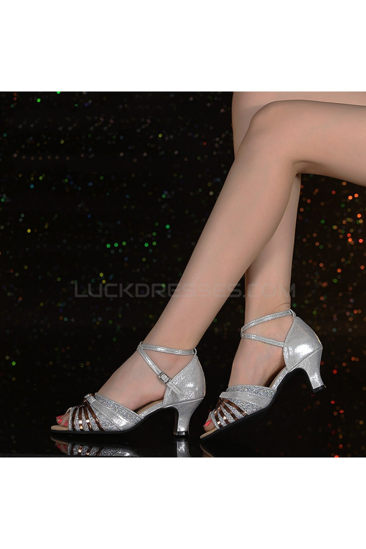 sparkling glitter shoes