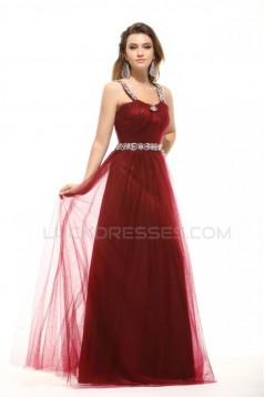 Sheath/Column Beaded Long Prom Evening Formal Party Dresses ED010022