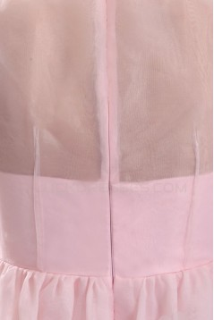 A-Line Long Pink Prom Evening Formal Party Dresses ED010034