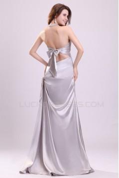 Long Halter Prom Evening Formal Party Dresses ED010101