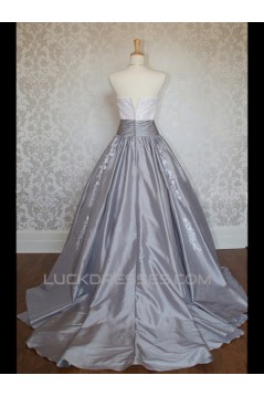 Ball Gown Strapless Long Prom Evening Formal Dresses ED011021
