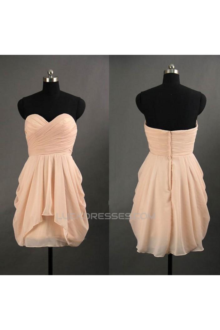 Short/Mini Sweetheart Chiffon Prom Evening Formal Cocktail Dresses ED011061