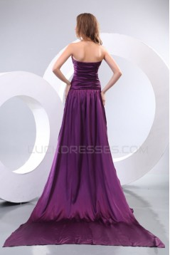 Long Purple Sweetheart Prom Evening Formal Party Dresses ED010112