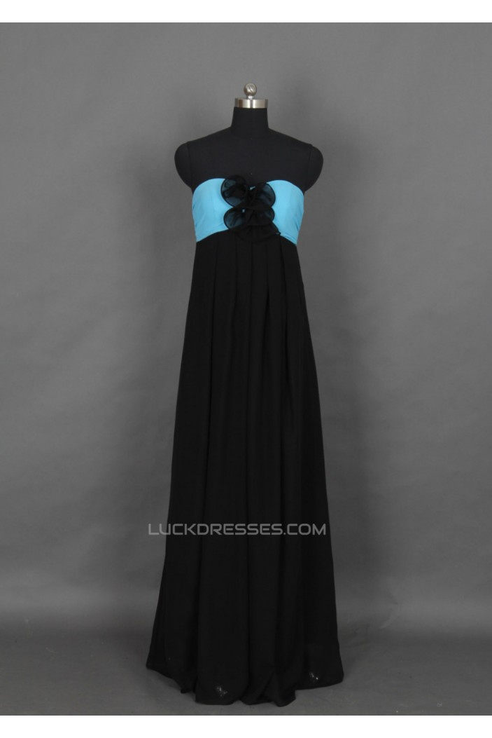 Empire Sweetheart Long Chiffon Prom Evening Formal Dresses ED011148
