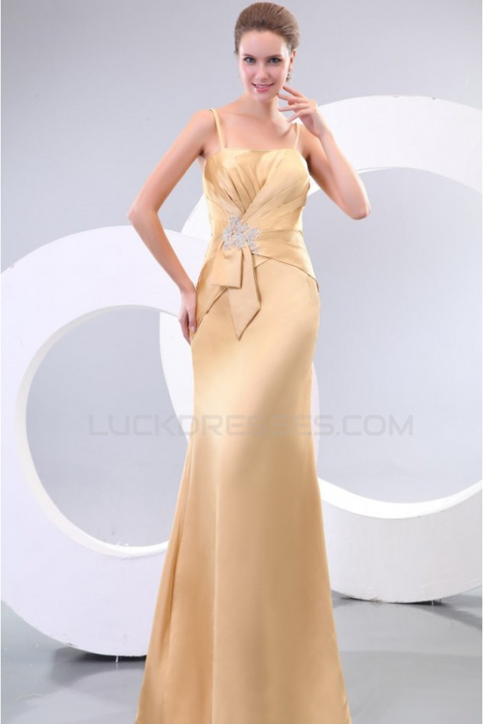 Long Spaghetti Strap Prom Evening Formal Party Dresses ED010117