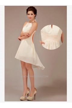A-Line Short Chiffon Prom Evening Bridesmaid Dresses ED011230
