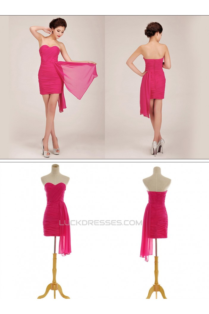 Short/Mini Sweetheart Chiffon Prom Evening Formal Dresses ED011262