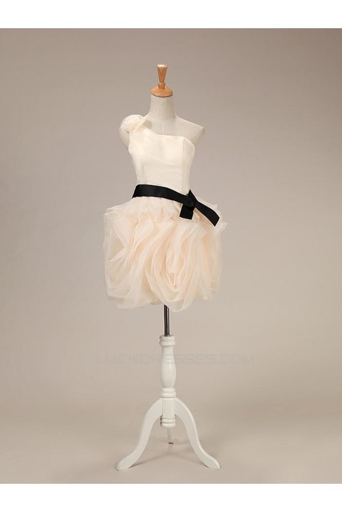 Short/Mini One-Shoulder Prom Evening Formal Dresses ED011281