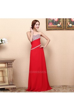 A-Line Sweetheart Beaded Long Prom Evening Formal Dresses ED011288