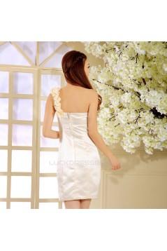 Short/Mini One-Shoulder Prom Evening Formal Dresses ED011322