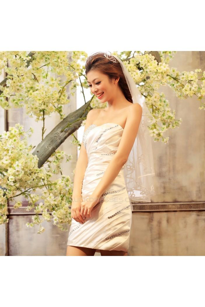Short/Mini Sweetheart Beaded Prom Evening Formal Dresses ED011367