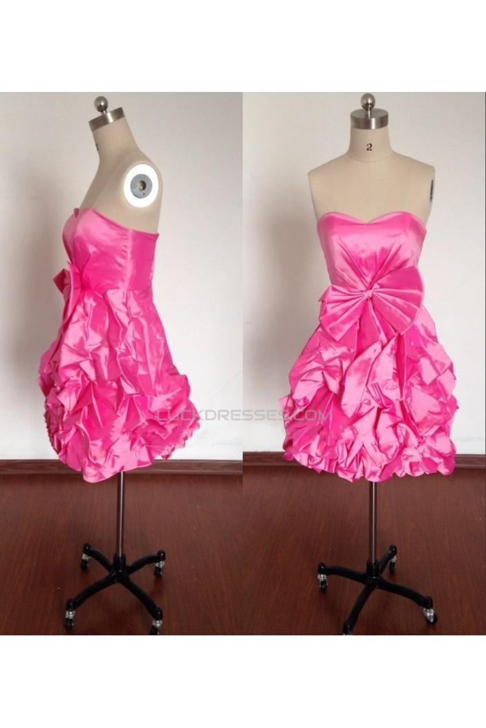 Sweetheart Short Prom Evening Formal Bridesmaid Dresses ED011493