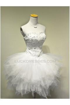 Short/Mini Sweetheart Tulle Prom Evening Cocktail Dresses ED011537