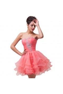 Short/Mini Sweetheart Beaded Prom Evening Cocktail Dresses ED011619