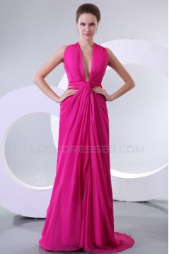 Long Pink Prom Evening Formal Party Dresses ED010166