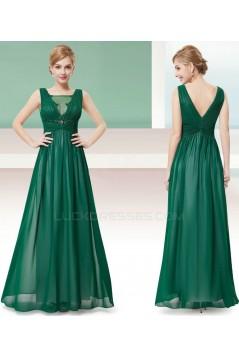 A-Line Long Chiffon Prom Evening Formal Dresses ED011683