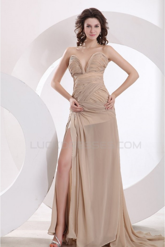 Affordable Long Chiffon Prom Evening Formal Party Dresses ED010170
