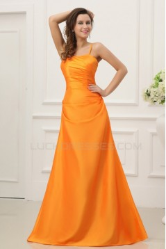 A-Line Spaghetti Strap Long Prom Evening Formal Party Dresses ED010201