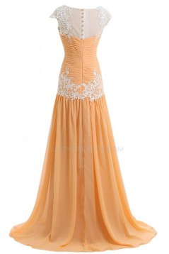 A-Line Long Chiffon Prom Evening Formal Party Dresses ED010249