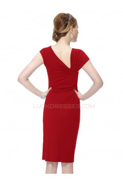 Short Red Prom Evening Formal Party Dresses ED010251