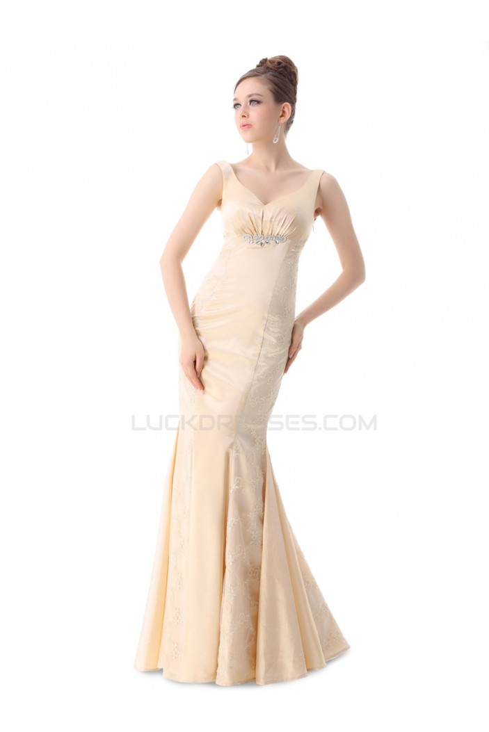 Trumpet/Mermaid Long Prom Evening Formal Party Dresses ED010257