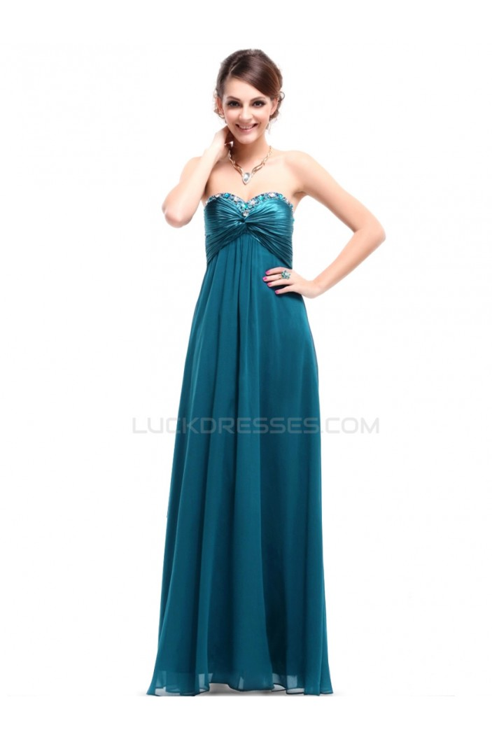 Empire Sweetheart Long Prom Evening Formal Party Dresses/Maternity Dresses ED010258