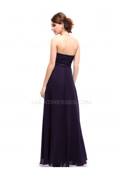 Empire Sweetheart Long Purple Prom Evening Formal Party Dresses/Maternity Dresses ED010261