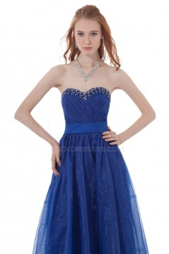 Long Beaded Sweetheart Prom Evening Formal Party Dresses ED010278