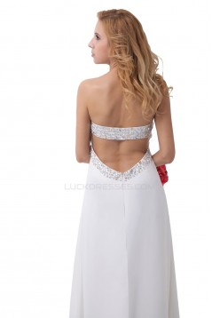 Empire Beaded Long Chiffon Prom Evening Formal Party Dresses ED010289