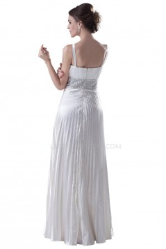 A-Line Long Blue Beaded Prom Evening Formal Party Dresses ED010321